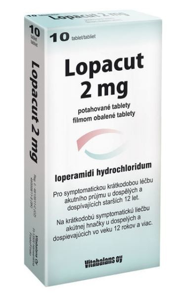LOPACUT 2MG potahované tablety 10