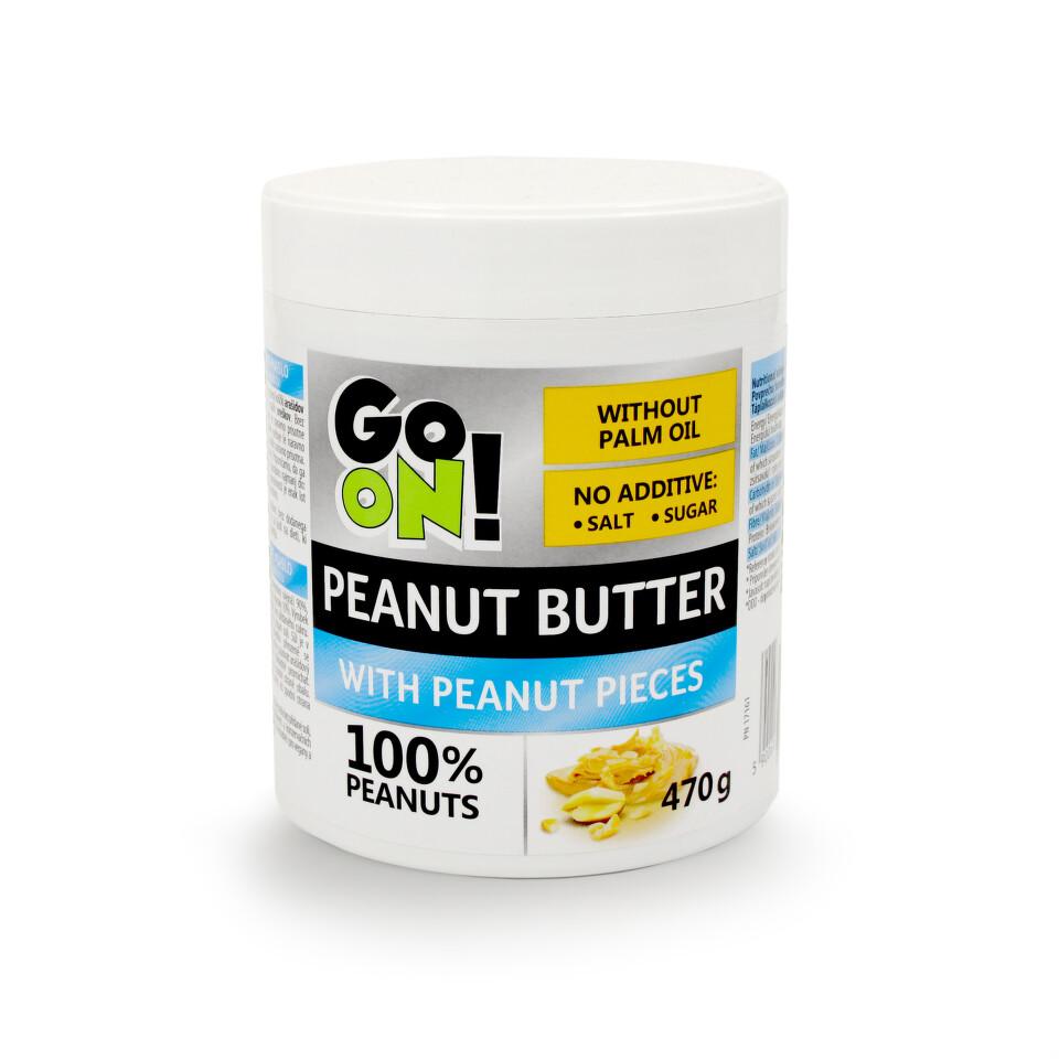 GO ON! Arašídové máslo s kousky arašídů 470g