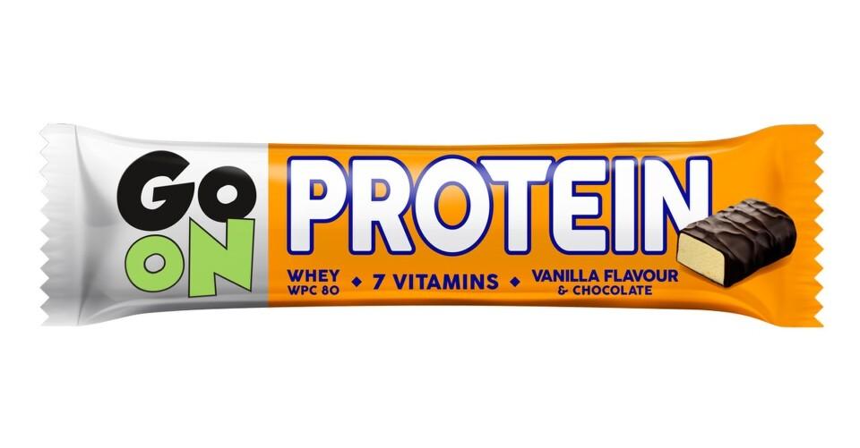 Allnature Vieste GO ON Proteinová tyčinka s příchutí vanilky 50g