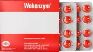 WOBENZYM enterosolventní tableta 40 II