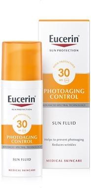 EUCERIN SUN Emulze proti vráskám SPF30 50ml