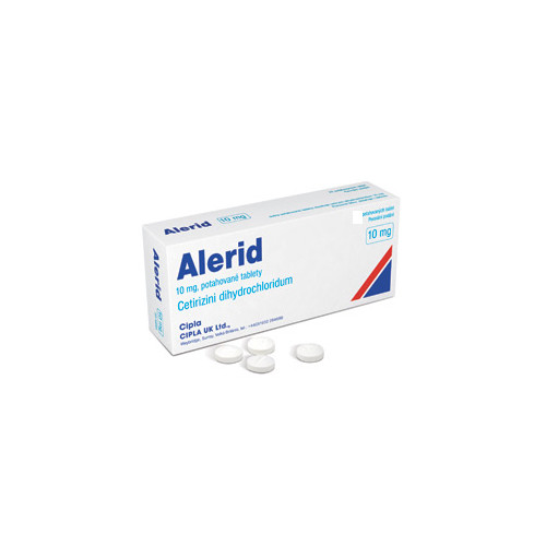 ALERID 10MG potahované tablety 10