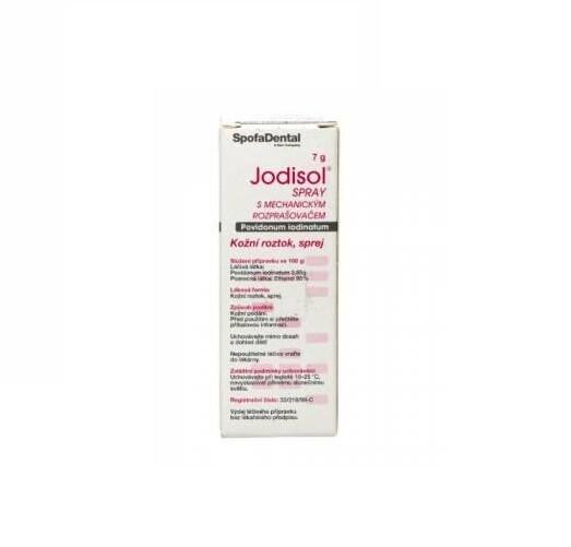 JODISOL SPRAY 38,5MG/G kožní podání SPR SOL 1X7G