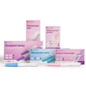LIVSANE Těhotenské a ovulační testy