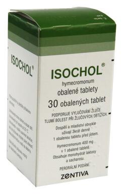 ISOCHOL perorální obalené tablety 30X400MG