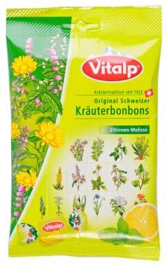TOPVET -švýcar.bonbóny VITALP citron - meduňka 75g