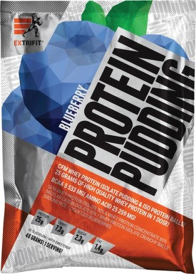 EXTRIFIT Protein Pudding 40g Blueberry