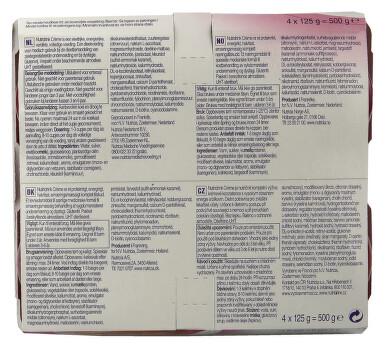 NUTRIDRINK CREME S PŘÍCHUTÍ LESNÍHO OVOCE perorální roztok 4X125GM
