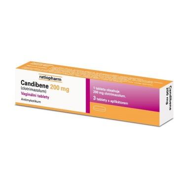 CANDIBENE 200 MG vaginální tablety 3X200MG