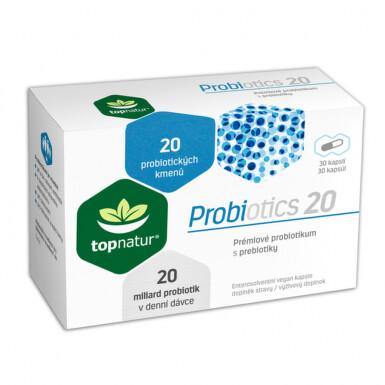 Probiotics 20 cps.30 TOPNATUR