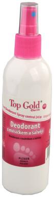 TOP GOLD Deo.s měsíčkem+šalvějí+Tea Tree Oil 150g