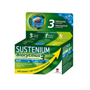 Sustenium Biorytmus 3 multivitamin MUŽ tbl.30