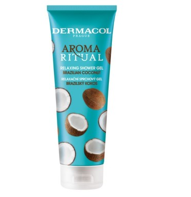 Dermacol AR sprch.gel brazilský kokos 250ml