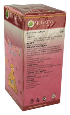 Megafyt Dětský čaj zažívání n.s.20x2g