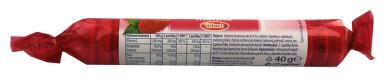 Intact rolička hroznový cukr s vit.C - malina 40g