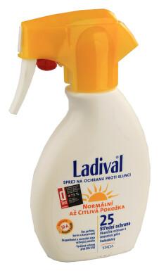 LADIVAL OF25 slun.ochr.sprej norm-citl.kůže 200ml
