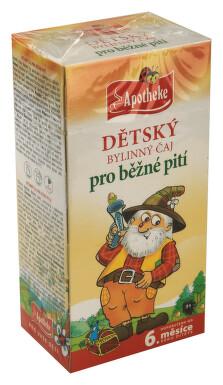 Apotheke Dětský čaj bylin.pro běžné pití 20x1.5g