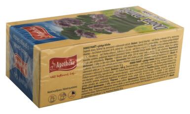 Apotheke Pro dobrou paměť s ginkgo bil.čaj 20x1.5g