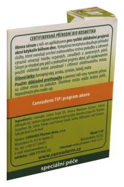 Cannaderm Aknea ošetřující sérum 5ml