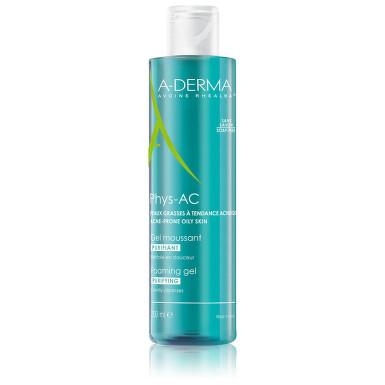 A-DERMA Phys-AC Čistící pěnivý gel 200ml