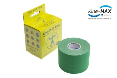 KineMAX SuperPro Cot. kinesiology tape zel.5cmx5m