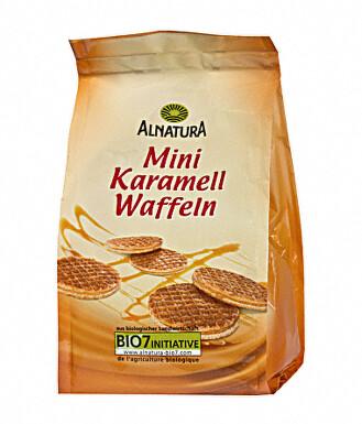 Alnatura Karamelové vafle mini 150g