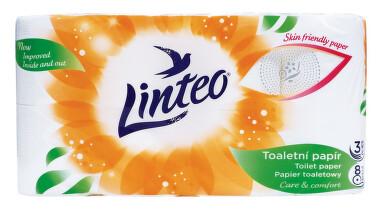 Toaletní papír LINTEO Satin 3 vrst. 8ks