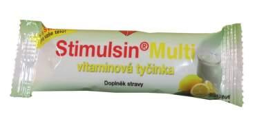 Stimulsin Multi vitaminová tyčinka 30g