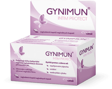 GYNIMUN intim protect 10 vag. kapslí