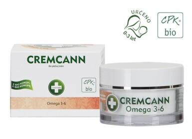 Cremcann Omega 3-6 detoxikační pleťový krém 50ml