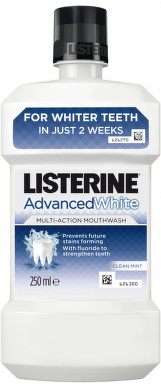 LISTERINE® ADVANCED WHITE 250 ml