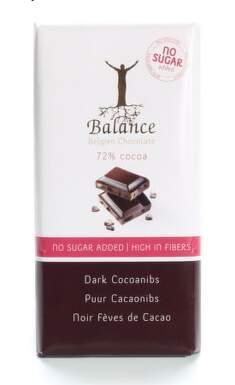Balance 72% hořká čokoláda s kak.boby b.cukru 100g