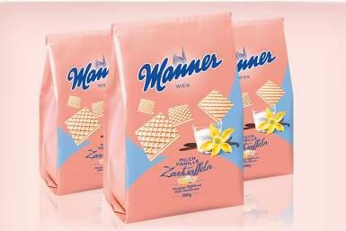 Manner Milch Vanille 200g