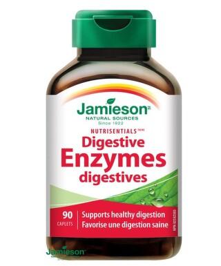 JAMIESON Trávicí enzymy-Nutrisential tbl.90