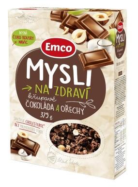 EMCO Mysli čokoládové s lískovými oříšky 375g