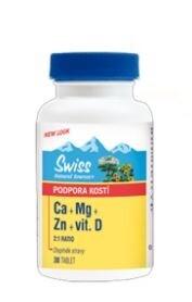 Swiss Ca+Mg+Zn+vit.D tbl.30
