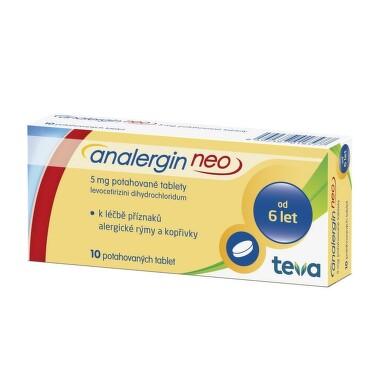 ANALERGIN NEO 5MG potahované tablety 10 II