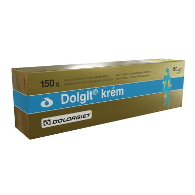 DOLGIT 50MG/G krém 150G