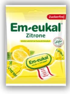 Em-Eukal Citronové dropsy s vit.C bez cukru 50g