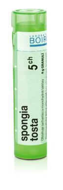 SPONGIA TOSTA 5CH granule 4G