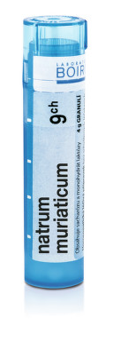 NATRUM MURIATICUM 9CH granule 1X4G