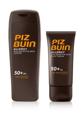 PIZ BUIN SET AllergyL.200mlSPF50+FaceCr.50mlSPF50