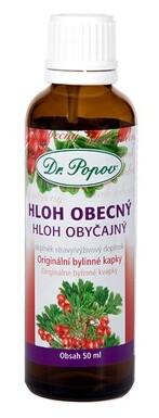 Dr.Popov Kapky bylinné Hloh obecný 50ml