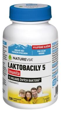 Swiss NatureVia Laktobacily 5 Imunita cps.120