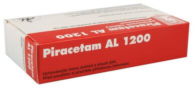 PIRACETAM AL 1200 perorální potahované tablety 30X1200MG
