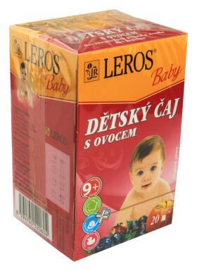 LEROS BABY Dětský čaj s ovocem n.s.20x2g