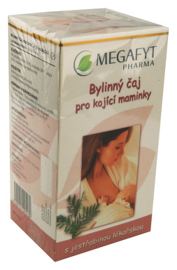 Megafyt Bylin.čaj pro koj.matky s jestř.lék.20x1.5