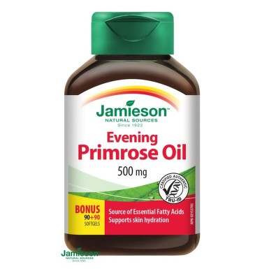 JAMIESON Pupalkový olej cps.180