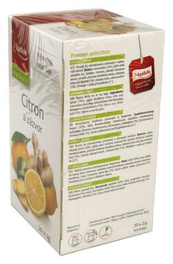 Apotheke Citron+zázvor s lípou čaj 20x2g n.s.