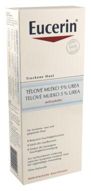 EUCERIN UREA 5% zvláč.těl.mléko suchá pok. 400ml